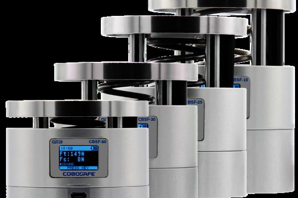 Mensch-Roboter-Kollaboration und die ISO/TS 15066. Mit unserem Service und dem Kraftmessgerät CoboSafe von GTE machen Sie Ihre Cobot-Anwendung sicher.