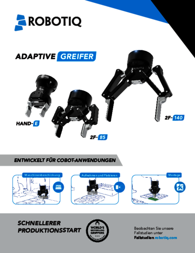 Robotiq Hand-E Datenblatt