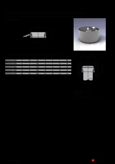 Technische Daten FIBRO Aufnahmering für Schneidstempel mit Posaunenhals