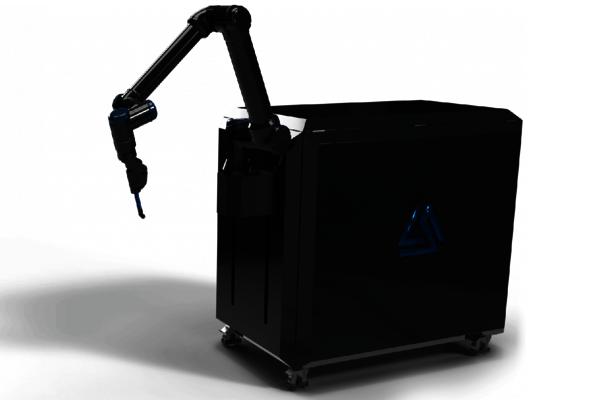 Automatisierte Applikationstechnik mit kollaborativen Robotern.