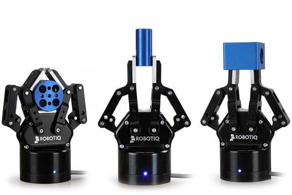 Robotergreifer von Robotiq, speziell für den UR3, UR5, UR10 entwickelt - einfache Installation und Bedienung. Automatisieren Sie jetzt mit UR und Robotiq!