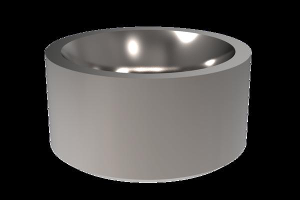 Der Aufnahmering ersetzt das Einbringen der Posaunenhalskontur in die Stempelhalteplatte durch zylindrische Senkung. Wir liefern zuverlässig und schnell.