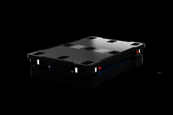 Das FTS MiR1350 von Mobile Industrial Robots erledigt autonom Transportaufgaben bis 1350 kg. Die Automatisierung der Intralogistik war noch nie so einfach.