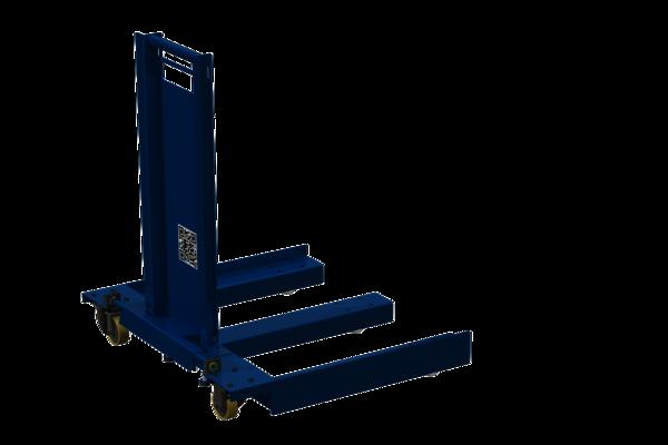 Palettentransporter sind für MiR 100 und MiR200 von Mobile Industrial Robots in Verbindung mit einem MiR Hook geeignet. Für effiziente Intralogostik.