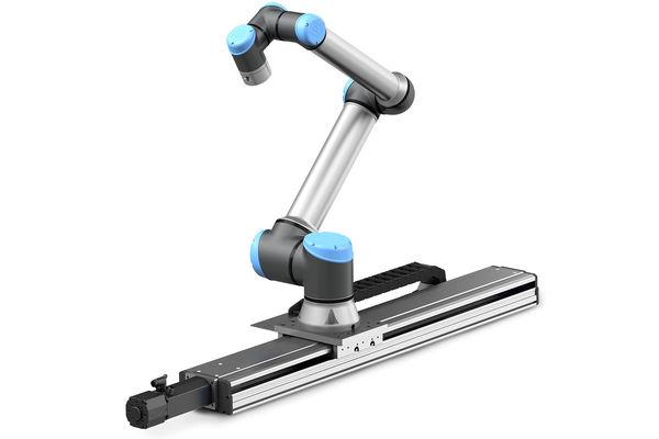 Mit der Linearachse von Ewellix erweitern Sie den Arbeitsbereich Ihres Universal Robots Cobots. Größere Reichweite bedeutet mehr Möglichkeiten.