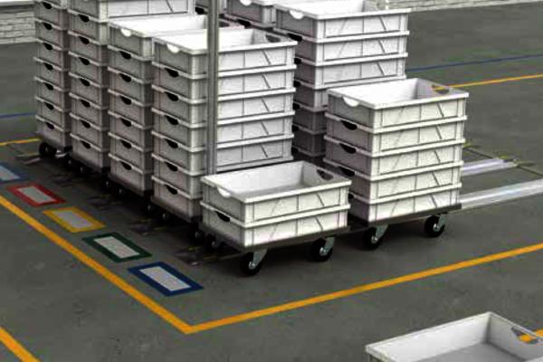 Parkschienen und Führungsschienen zur Materialbereitstellung und Optimierung der Effizienz in Lager und Produktion. ✓Riesiges Sortiment. ✓Schnelle Lieferung.