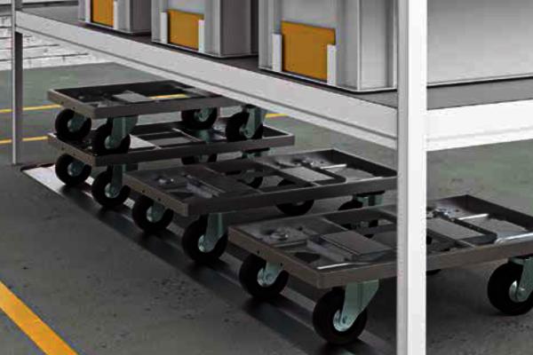 Hochwertige Bodenroller für effektiven und effizienten Materialtransport für alle KLT / Eurobehälter. Sofort lieferbar. ✓1A-Qualität. ✓Schnelle Lieferung.