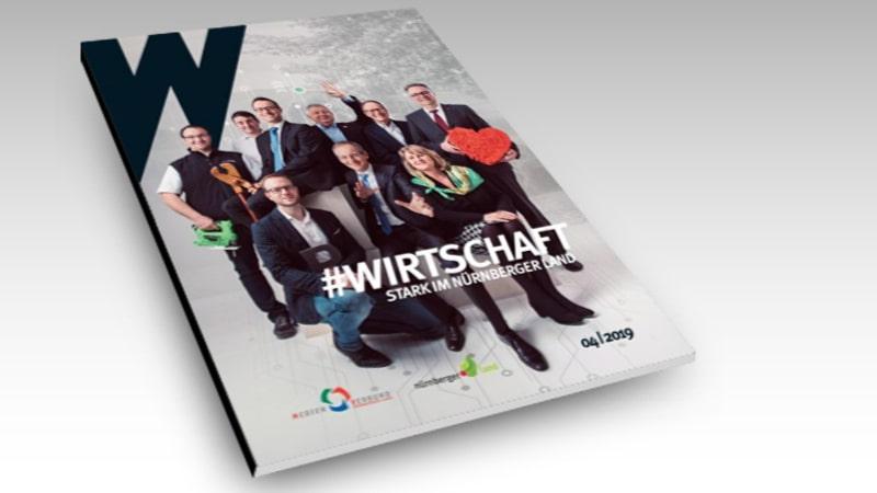 """J+K im Magazin """"Wirtschaftsbeilage"""""""