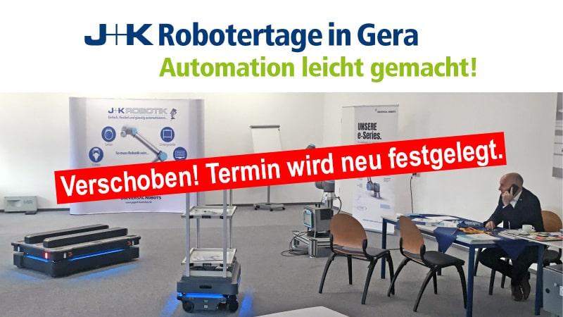 Robotertage in Gera 2020