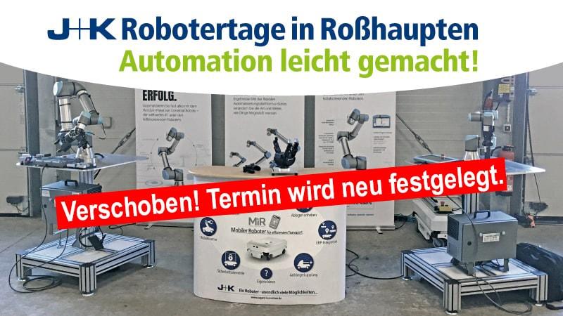 Robotertage Roßhaupten 2020 verschoben