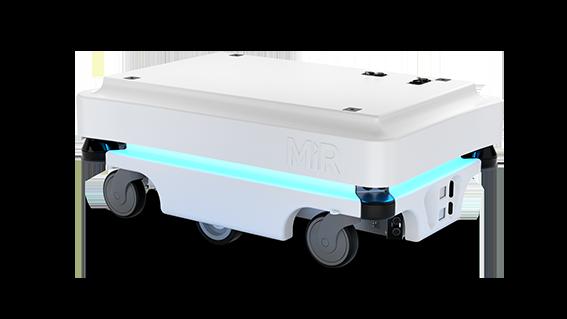 MiR100 Mobile Industrial Robots JUGARD+KÜNSTNER Längsseite