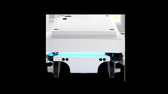MiR100 Mobile Industrial Robots JUGARD+KÜNSTNER frontal