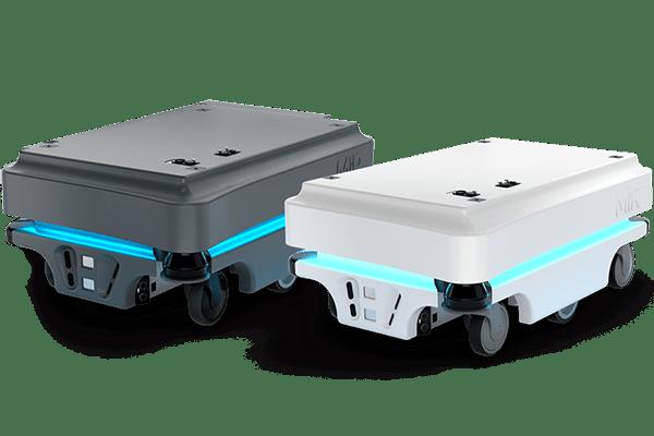Fahrerloses Transportsystem Mir100 und MiR200
