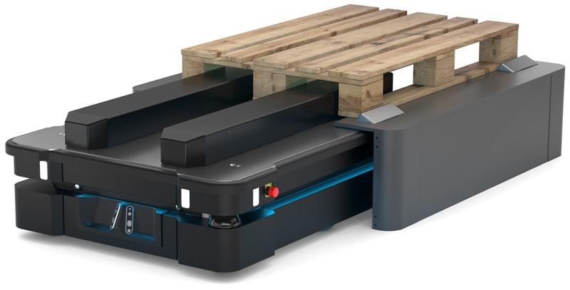 FTS MiR1000 Pallet-Lift und Pallet-Rack