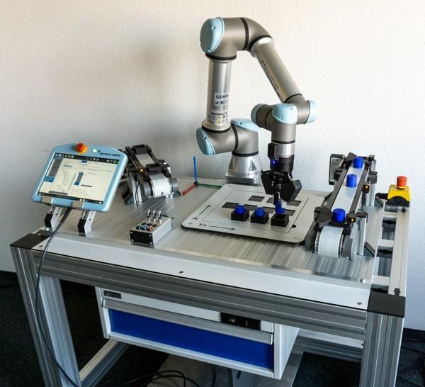 Universal Robots Schulungsstation